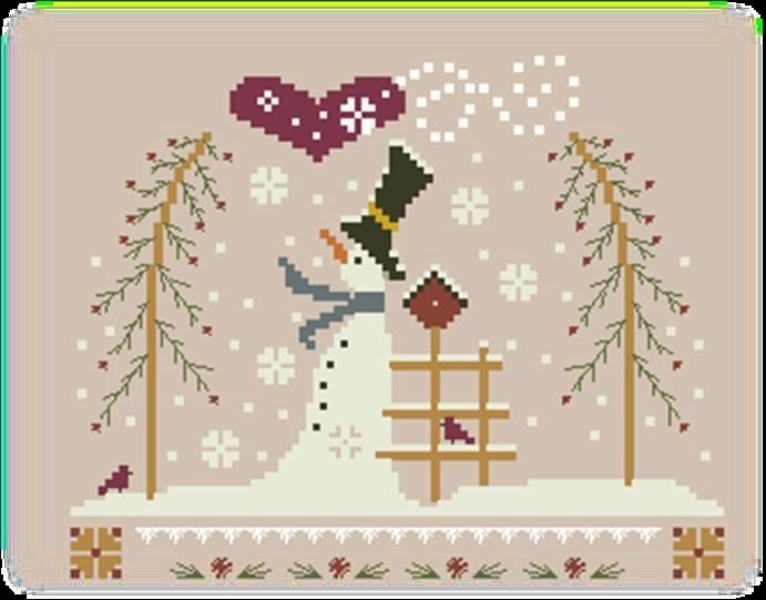 Bonne Année 2014 et encore des cadeaux !!! - Jura Point de Croix   Point de croix, Broderie de ...