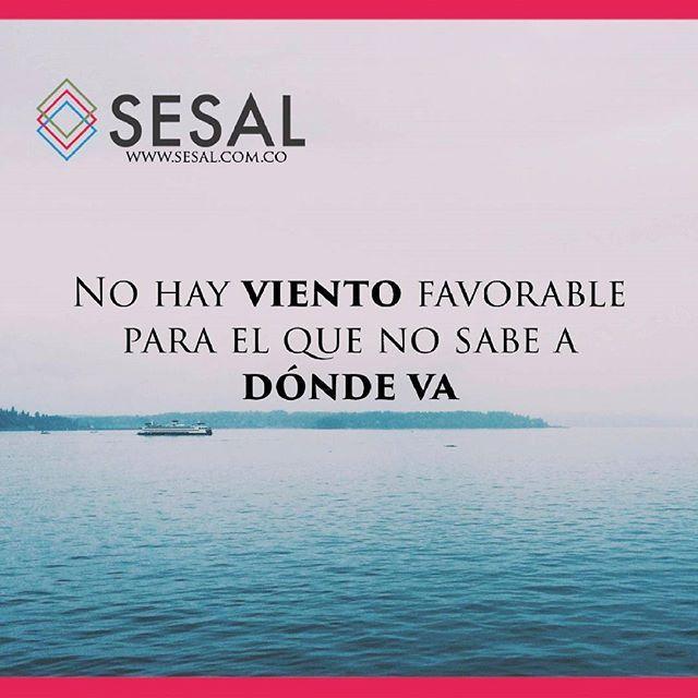 No hay viento favorable para el que no sabe a dónde va.  Séneca #sesal #marketing #venezuela #colombia #españa #venezolanosencolombia #marketing #marketingdigital #creamostuempresa #emprende #ssl#salud #empresas #sisepuede