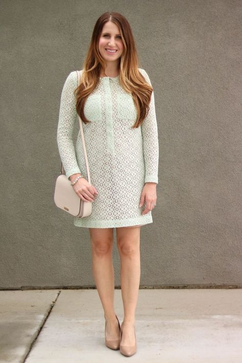 Easter dress, Victoria Beckham for Target dress, spring dress, lace dress, spring style, summer style, church outfit