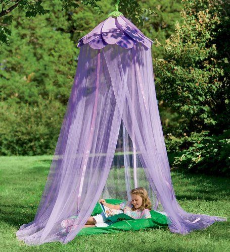 Secret Garden Hideaway Gauze Gazebo, in Pink by HearthSong®. $39.98. The Secret Garden Hideaway Gauze Gazebo envelops girls in an imaginary world of enchantment. Hang it from the ceiling over a play space or over a twin-size bed, or suspend it from a tree limb for outdoor play. Fluttering ribbons attached to a large, colorful flower canopy with room for several children to play. She can also walk under a canopy of colorful leaves and flowers with our Secret Garden Make ...