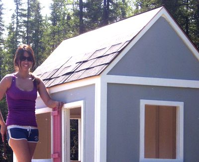 Ana White | Build a Playhouse Roof | Free and Easy DIY Project and Furniture Pla…