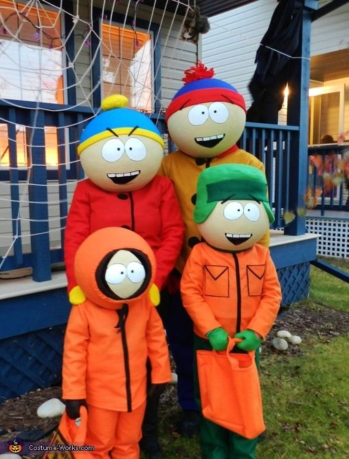 south park family costume - Southpark Halloween Costumes