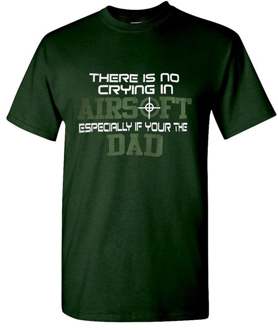 Airsoft Airsoft Dad Dad tee airsoft t-shirt by ShoutitOutApparel