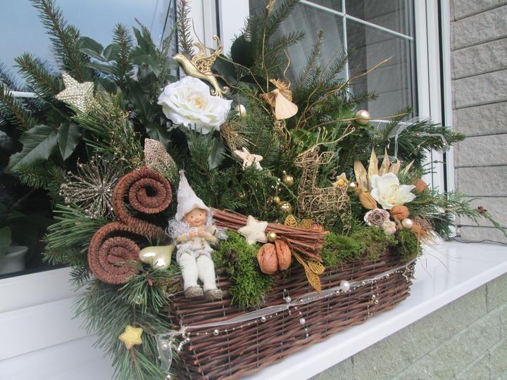 62 besten weinachtsdeko bilder auf pinterest weihnachten Birkenstamm deko befestigen