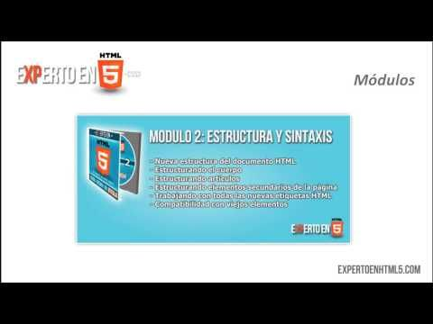 Video Curso de HTML5   Video Tutorial de HTML5