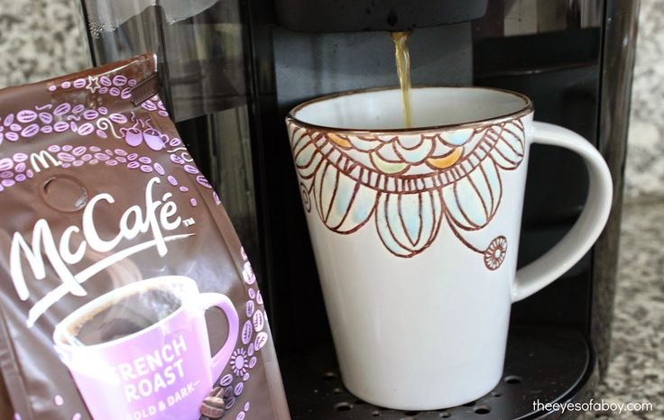 I love to start my day with McCafe coffee - yum! #McCafeMyWay #ad