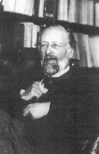 """French philosopher and historian Hippolyte Taine (1828-1893) with a cat on his lap. """"I have met many thinkers and many cats, but the wisdom of cats in infinitely superior."""""""
