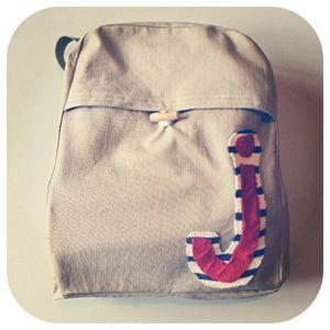 Self drafted rucksack