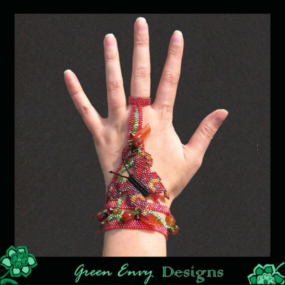 Red Lacewing by GreenEnvyDesigns on Etsy