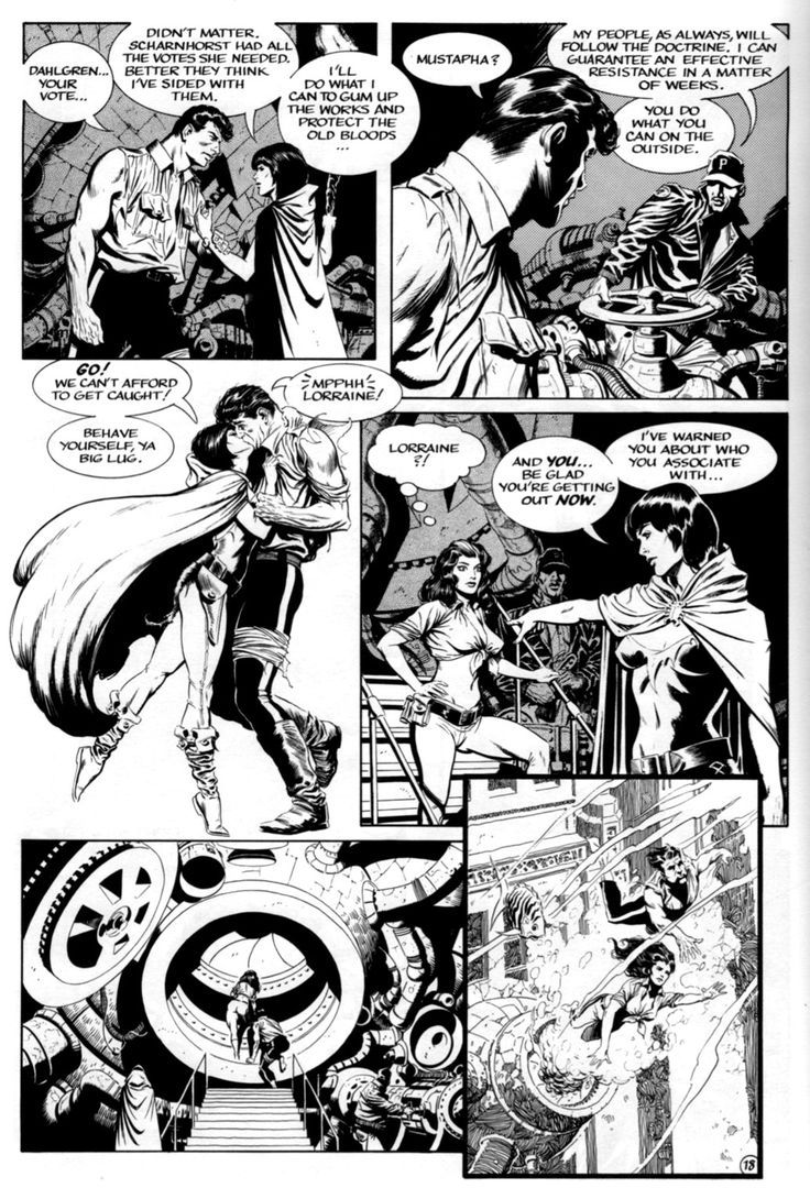 Having immersed ourselves in some of the EC greats, I thought I'd wind the clock forward a few years and look at the work of Mark Schultz, w...