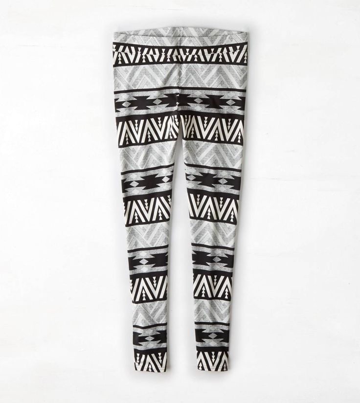 AEO Print Striped Legging