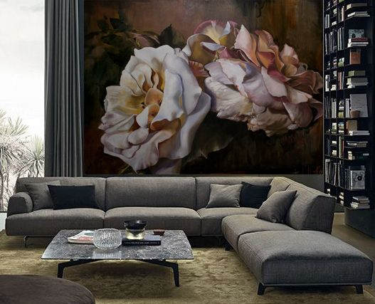 Diana Watson wall mural licensed by Warner Bros for feature film COLLATERAL BEAUTY with Helen Mirren, Will Smith Keira Knightley and Kate Winslett