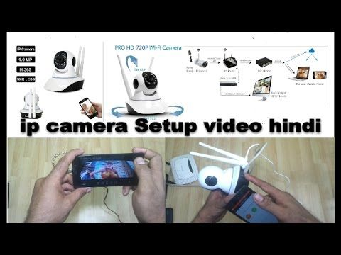 Wifi Camera Ip Camera ,P2P Ip HD Wireless Camera X8100,Setup