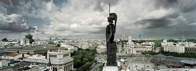 Azotea Circulo de Bellas Artes by Turismo Madrid, via Flickr