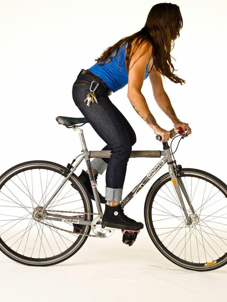 RYB Denim, jeans pensados para las mujeres ciclistas.