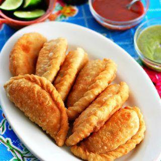 Crab Empanadas #mexican #food #recipe #fish #mexican #crab