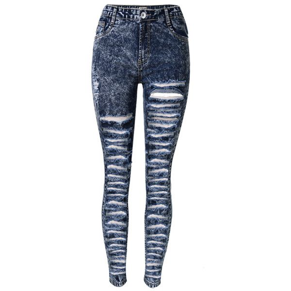 Best 25  High waisted distressed jeans ideas on Pinterest | High ...