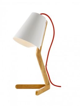 """Lampe à poser """"Woody"""" (H: 43 cm), FLY 29 €"""