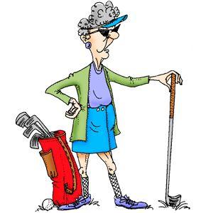 La reina del golf