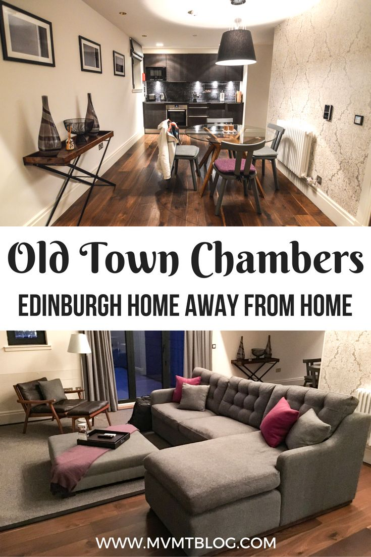 We've never felt more at home outside our actual home than when we stayed at Old Town Chambers in Edinburgh, UK. These fully serviced apartments combine modern day design with the history of the building in the Old Town area of Edinburgh. We almost didn't even want to go out and explore the city because we were so comfortable at home at Old Town Chambers.