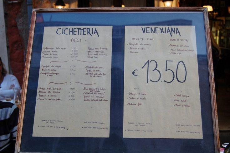 Venezia: bacari, ristoranti e osterie a Cannaregio