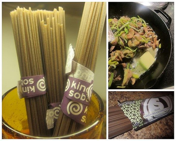 Buckwheat Soba Noodles with Mushrooms_collage