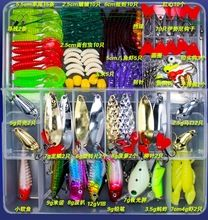 Wholesale Fishing Lures Hard Soft Lures Popper Minnow Vib Spoon Jig Head Bait Set Kit Box Pesca Fishing Tackles Acessories FU84  $US $15.40 & FREE Shipping //   http://fishinglobby.com/wholesale-fishing-lures-hard-soft-lures-popper-minnow-vib-spoon-jig-head-bait-set-kit-box-pesca-fishing-tackles-acessories-fu84/    #fishingrods