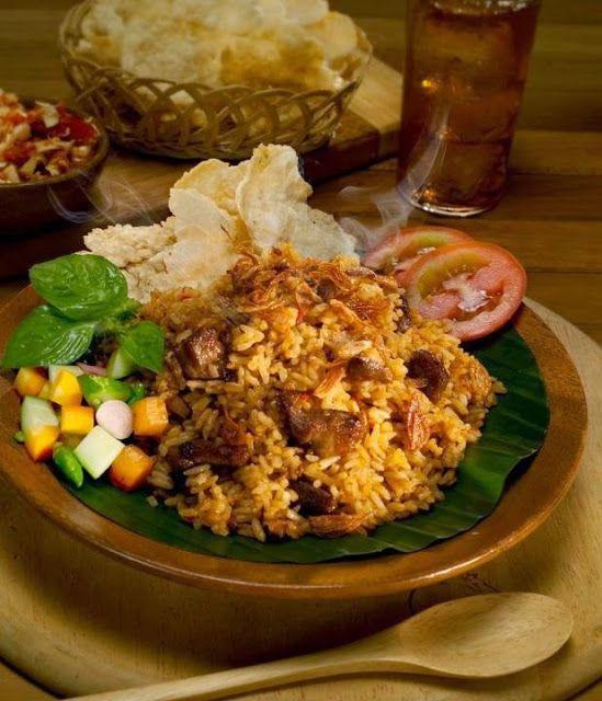 Resep Nasi Goreng Kambing Kebon Sirih