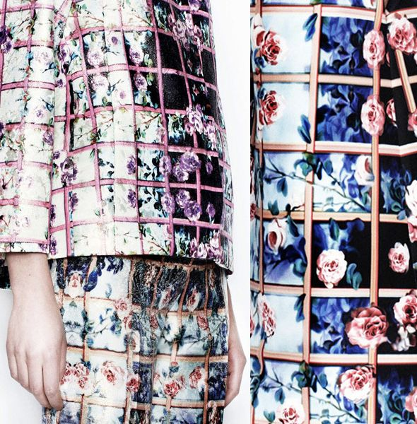 Print Trends | Lattice Florals