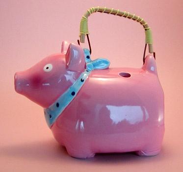 PIGGY: Teas Time, Exóticos Teapots, Pink Piggy, Teas Pots, Teapots Amenities, Teapots Collection, Teapots Teacups, Pigs Teapots, Funky Teapots
