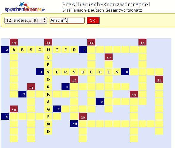 Englisch-Kreuzworträtsel zum Sprachen lernen: Verbessern Sie durch Kreuzworträtsel spielend Ihre Sprachkompetenz