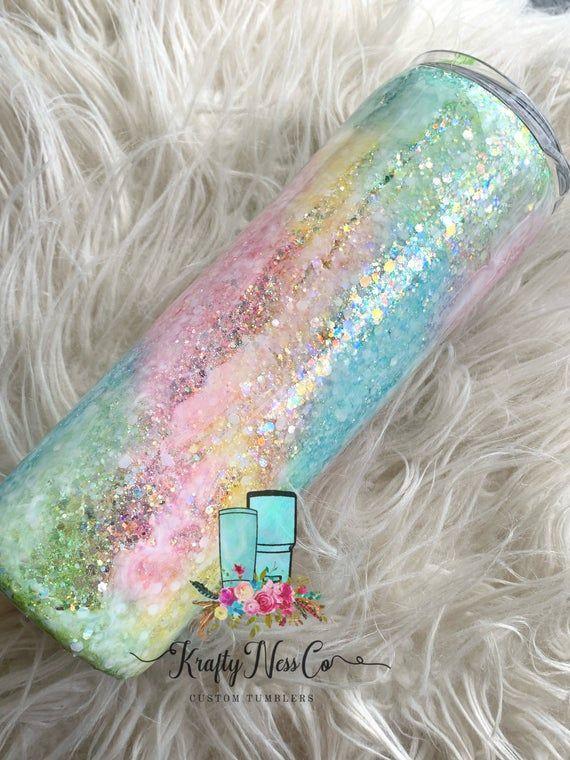 Rainbow Opal Tumblers
