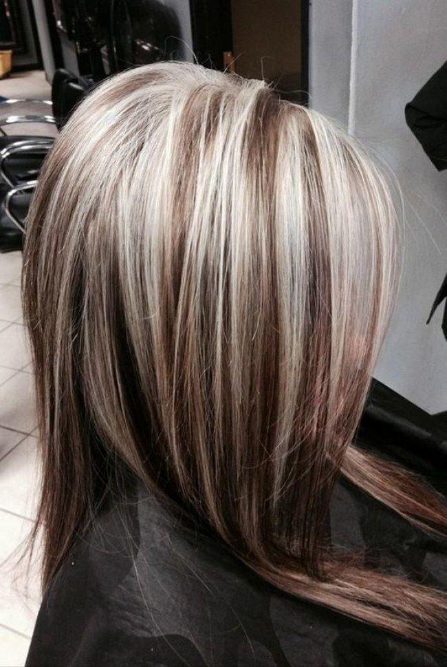 могла на светлые волосы темное мелирование фото придает минералу