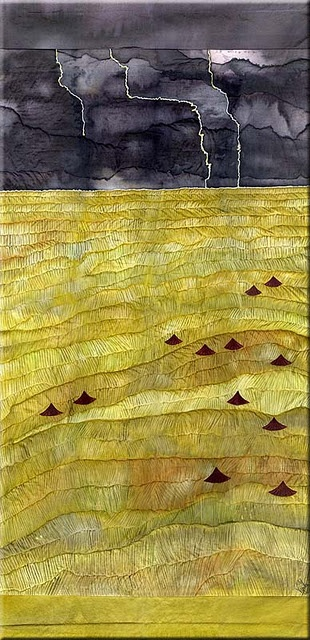 Textiles and texture. ?artist