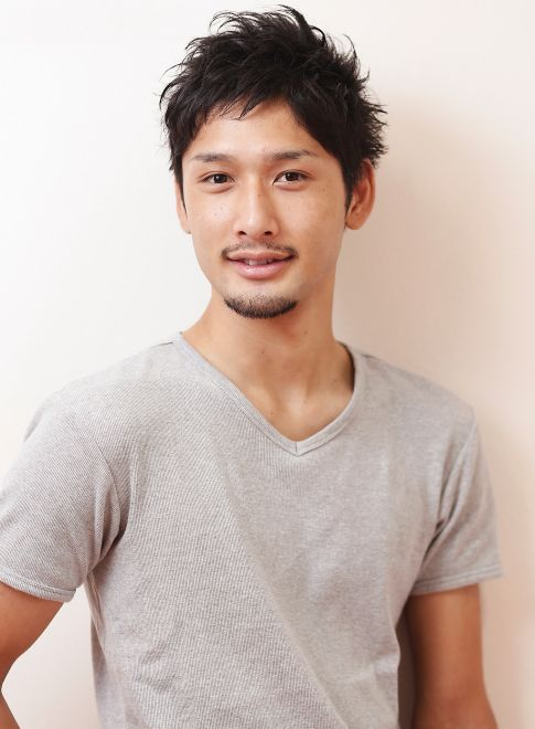 ショートレイヤー 【HAIR SALON Pele】 http://beautynavi.woman.excite.co.jp/salon/22164 ≪ #menshair #menshairstyle・メンズ・ヘアスタイル・髪形・髪型≫