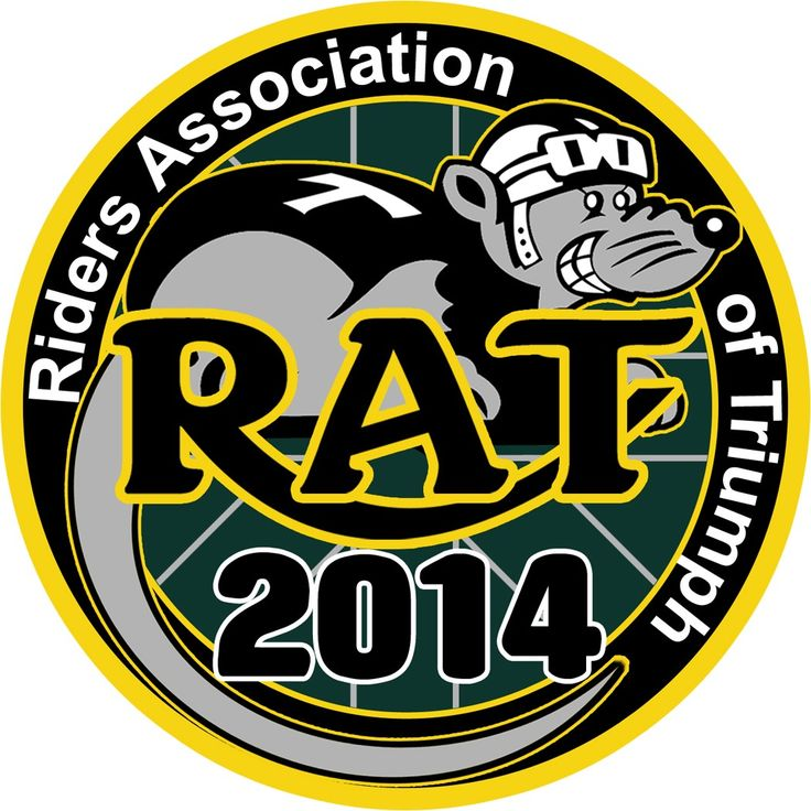 2014 Riders Association of Triumph RAT Patch.... Coming Soon!