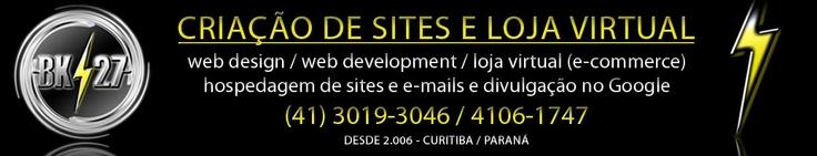 Criação de sites em Curitiba / Web-Segin / Loja Virtual em Curitiba  / E-Commerce em Curitiba