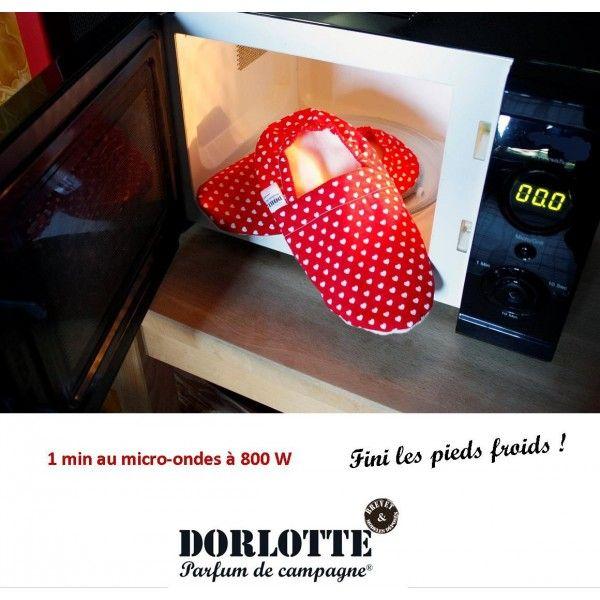 Bouillotte chausson chauffant déhoussable Dorlotte ( housse bouillotte pied froid + coussin chauffant chauffe-pied )