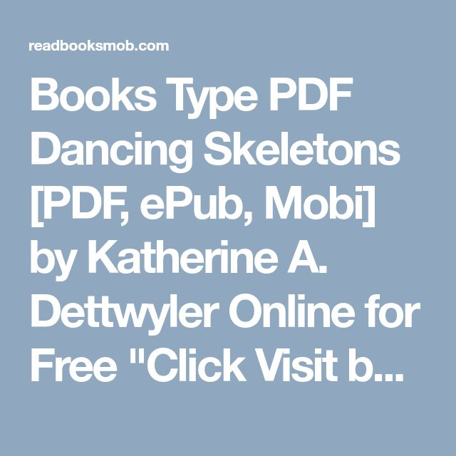 39 best my books images on pinterest books type pdf dancing skeletons pdf epub mobi by katherine a fandeluxe Gallery