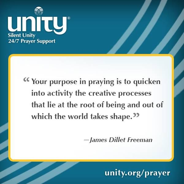 Your purpose in praying is to quicken into activity the ...