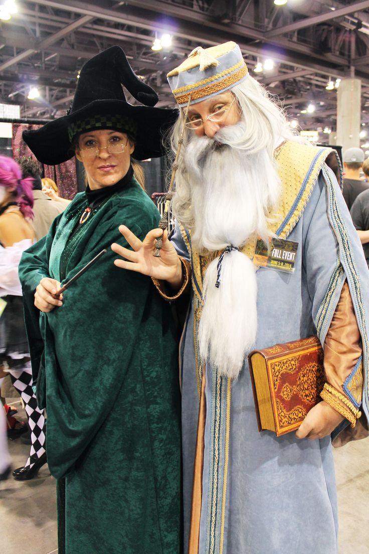 Dumbledore + Mcgonagall