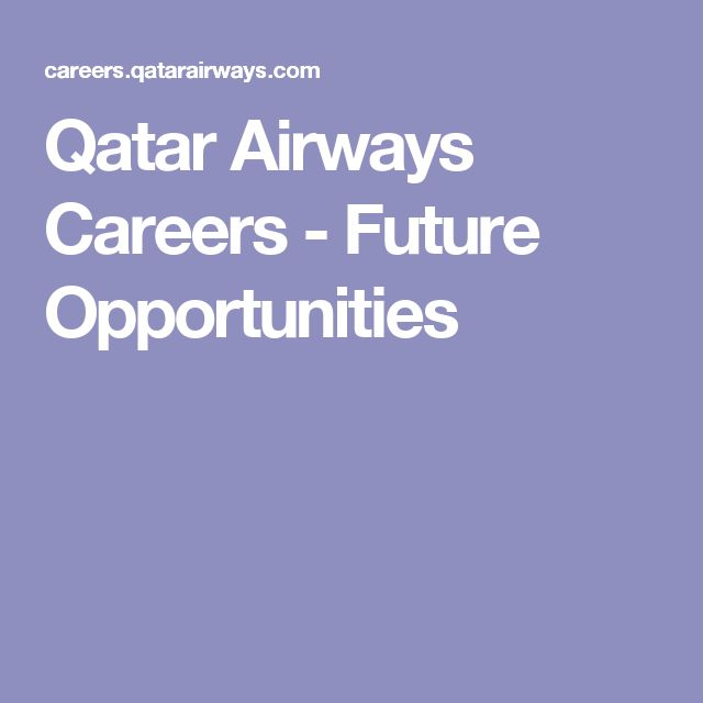 Qatar Airways Careers - Future Opportunities