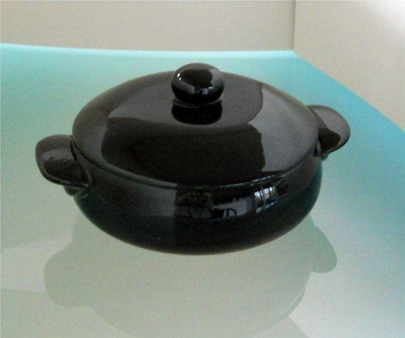 1960's Black Oven Proof Box at T-World Design - http://etsy.me/16uIF9i