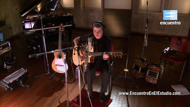 Encuentro en el Estudio con Gustavo Santaolalla. TEMA DE LEON GIECO, en el albúm de USHUAIA A LA QUIACA
