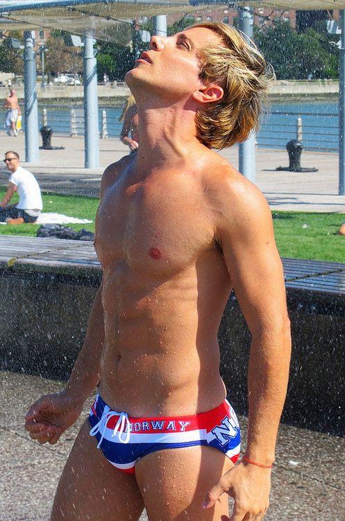 Teen boys lycra swimwear