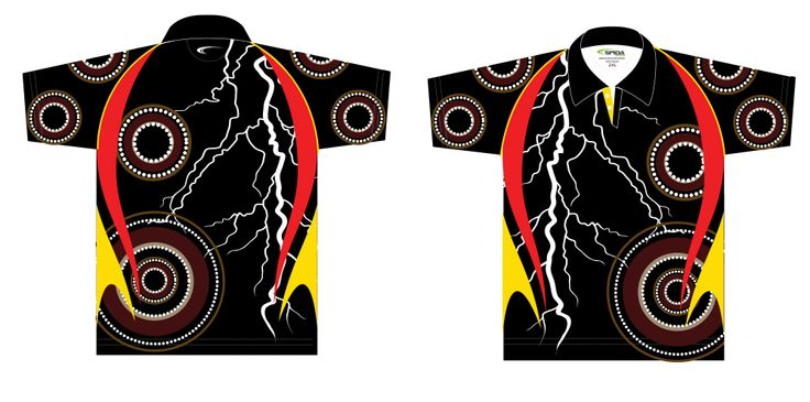 A perfect Sublimated Aboriginal Shirt for any Naidoc Event. Customise with your own logo and colours. http://promocorner.com.au/aboriginal-clothing/sublimated-aboriginal-shirts/