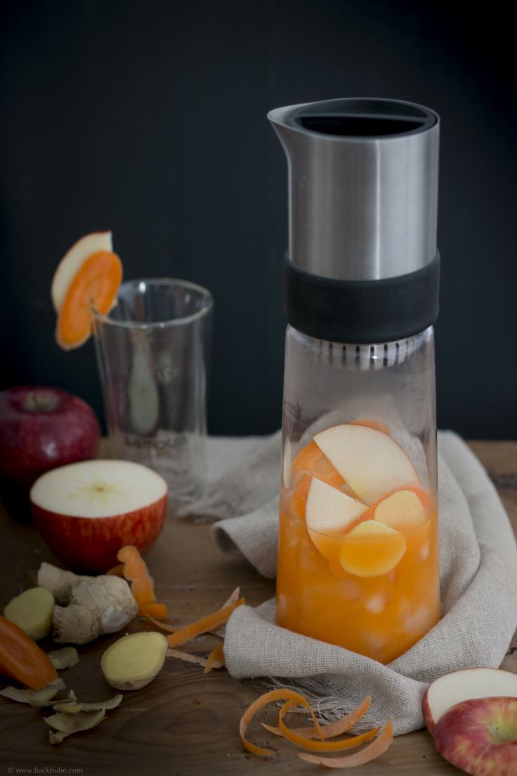 "Carrot Pineapple Detox Tea mit dem neuen Samova ""Digital Detox"" {Reklame) – Backbube"