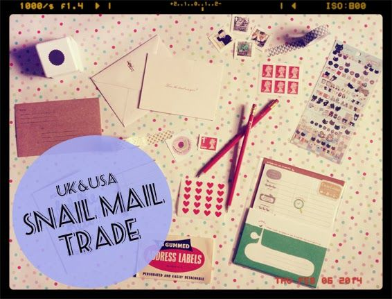 Love sending and receiving fun post? Check out our new Snail Mail Trade! Open to Uk and USA