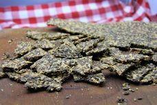 Lnene krekry se syrem /Linen crackers with cheese/ Zdravé, nízkosacharidové, bezlepkové recepty. (Healthy, low carb, gluten free recipes.)