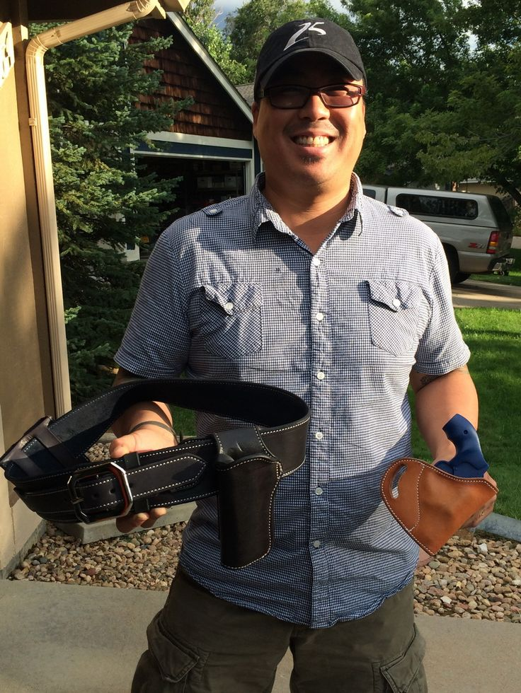 Joon Orion-Kim from New York and his Wild Bunch rig and an Avenger for a S&W J.  Joon is a competitive shooter and I'm looking forward to seeing what he comes up with!